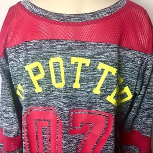 Boys S Harry Potter Graphic Jersey Shirt